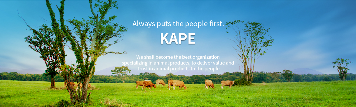 Always puts the people first. KAPE